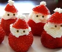 Babbo-Natale-con-panna-e-fragole
