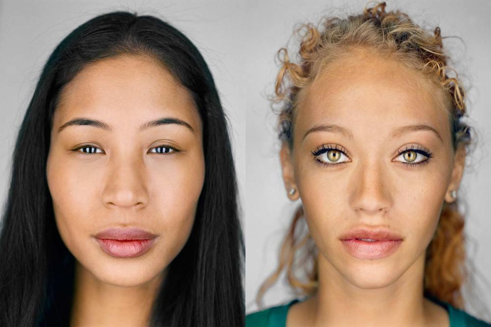 I nuovi volti degli americani senza razza